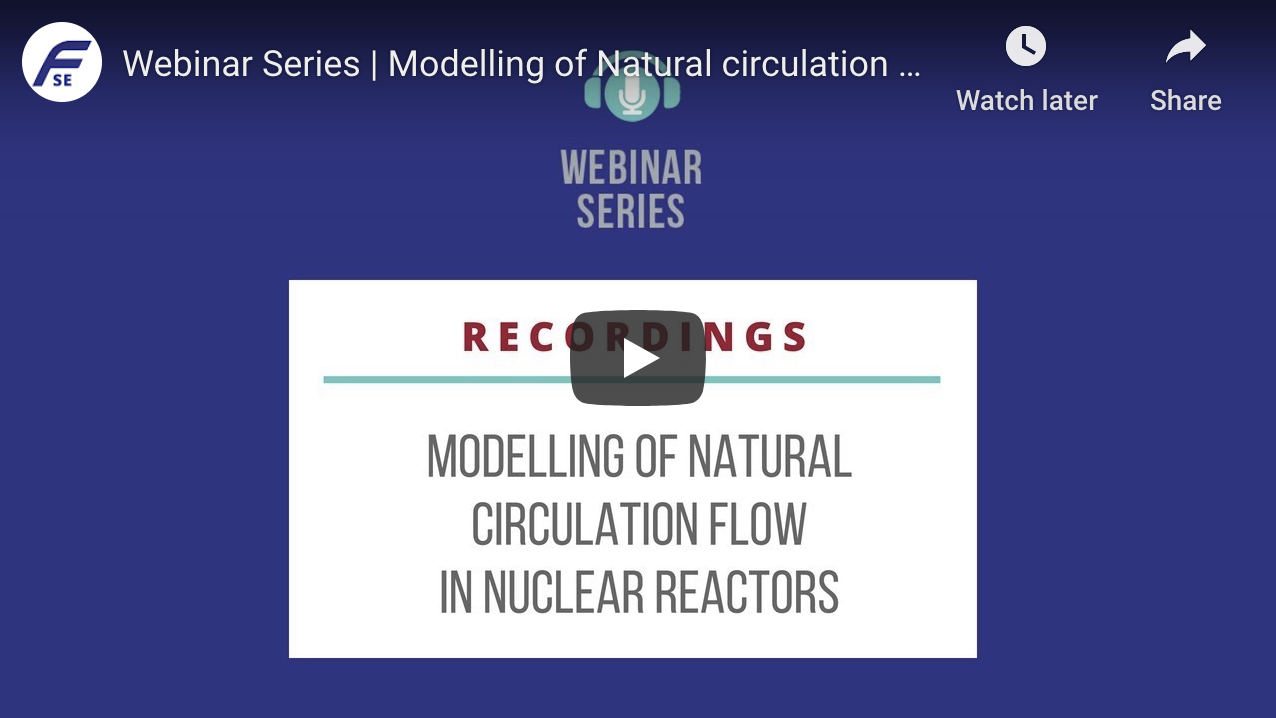 MODELLING OF NATURAL CIRCULATION FLOW IN NUCLEAR REACTORS